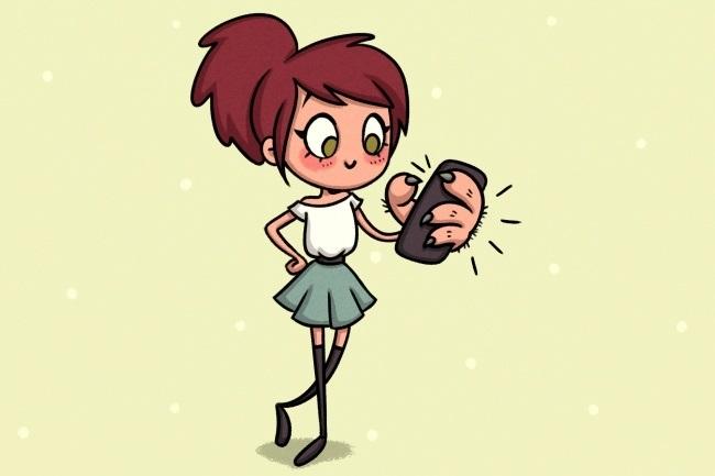 для большого телефона, нужны большие руки и пальцы