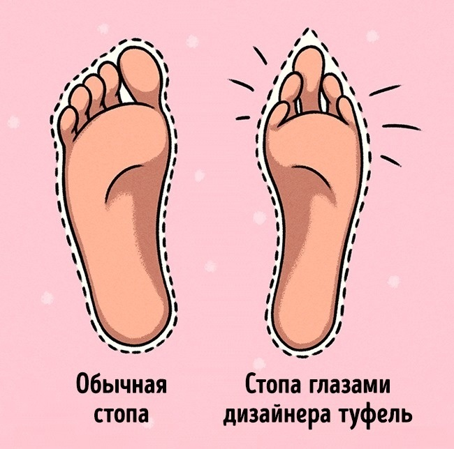 в маленькую обувь помещаются только маленькие ноги, а не все подряд.