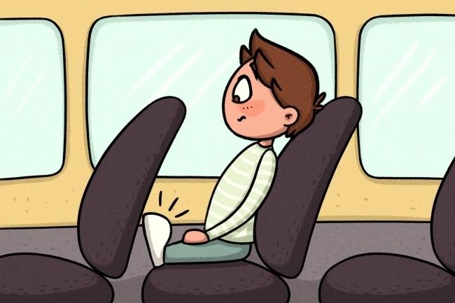 в маленьких маршрутках, должны ездить только маленькие хоббиты